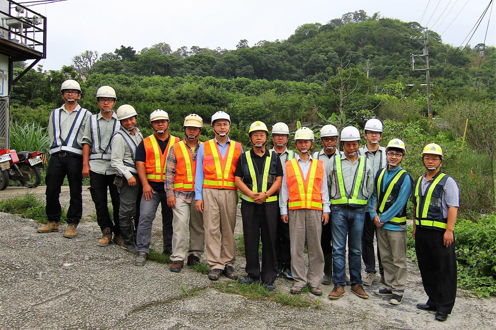 工程管理團隊-營建署中區工程處合影