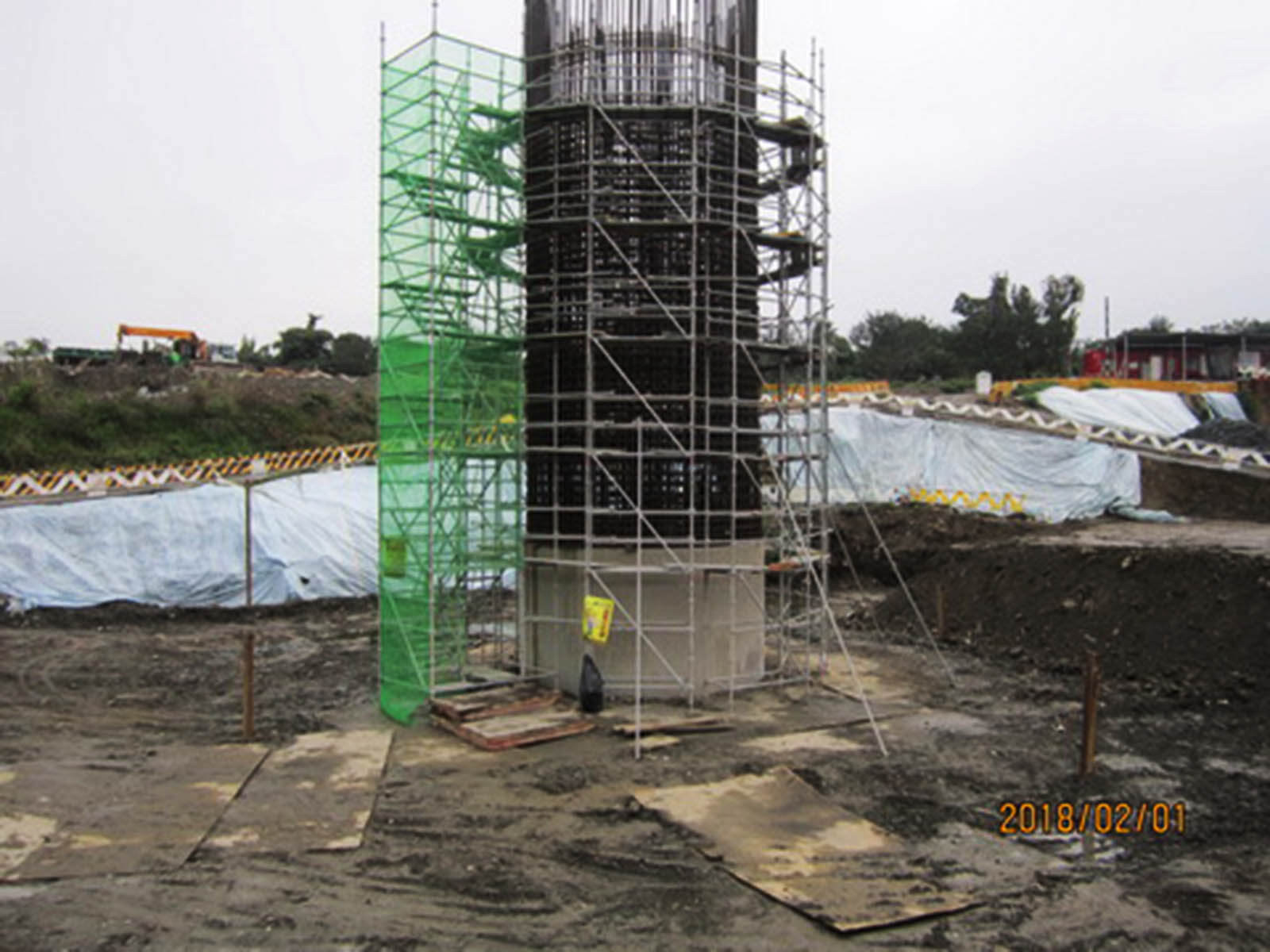華興橋改建工程施工設計時,採用更能預應極端氣候的工法2