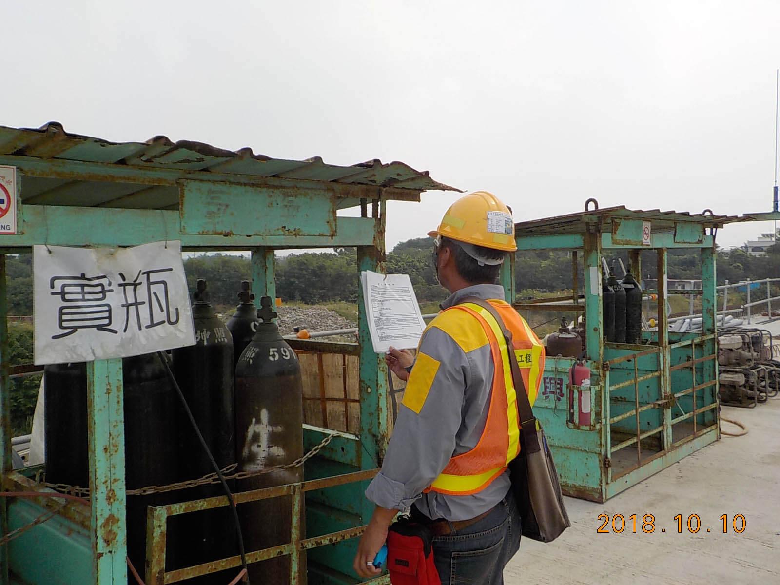施工團隊落實衛生安全品管作業