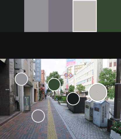設施帶寬度的統一、共桿的規劃可使街道整齊有序