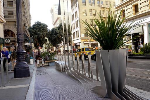 充滿藝術趣味的街道家具可增加城市魅力(舊金山:一)