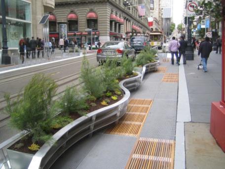 充滿藝術趣味的街道家具可增加城市魅力(舊金山:二)