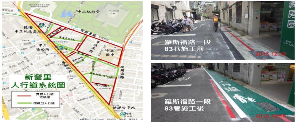 新營里人行道系統圖