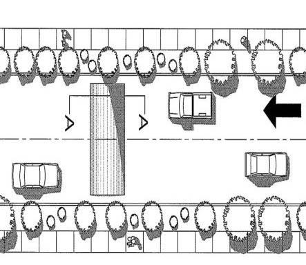 減速墊及減速丘平面圖例