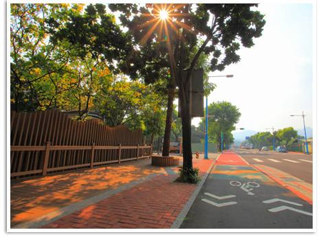 優質人行道與自行車道