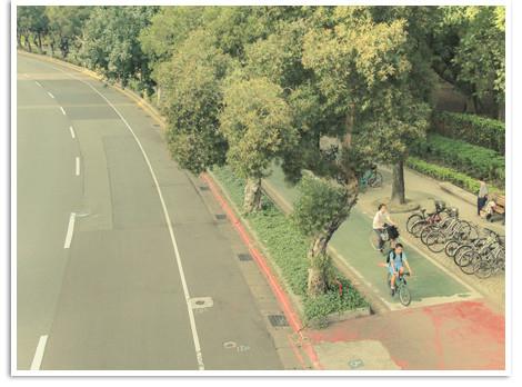 放學,我們騎腳踏車